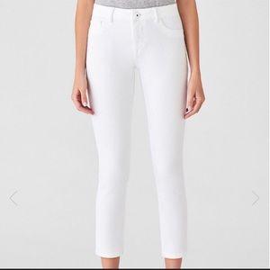 DL1961 Florence' Instasculpt Crop Skinny Jeans